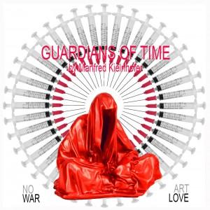 no-war-make-art-love-hope-freedom-free-speech-guardians-of-time-manfred-kielnhofer-arts-sculpture